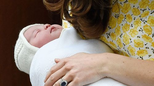 Princess gets warm g'day from Aust