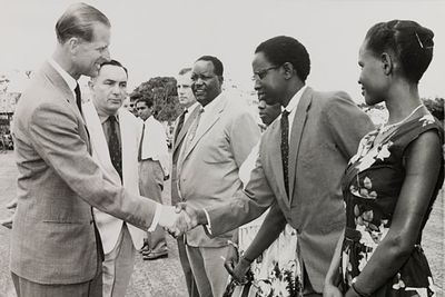 """Prince Philip is well known for his culturally insensitive gaffs, including: <br/><br/>""""If you stay here much longer, you'll all be slitty-eyed."""" (During a visit to China in 1986)<br/><br/>""""Do you still throw spears at each other?"""" (To an Indigenous Australian)<br/><br/>""""You look like you're ready for bed!"""" (To the Nigerian president, dressed in traditional robes)"""