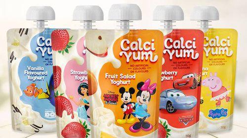 Kids yoghurt packs urgently recalled over choking fears