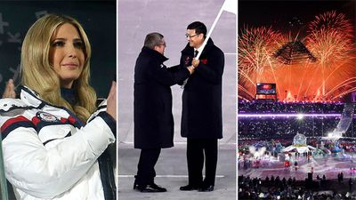 <strong>Ivanka Trump 'so incredibly inspired' by Olympics visit</strong>