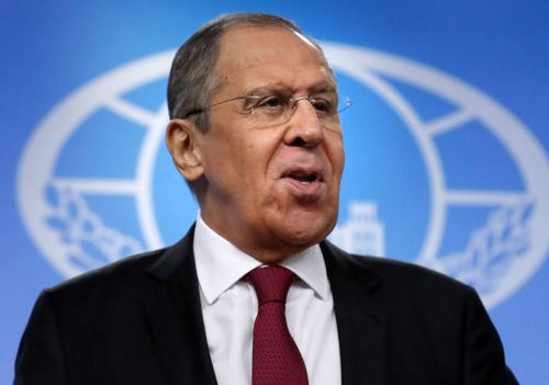 Russian Foreign Minister Sergei Lavrov said Paul Whelan arrested for spying offences had been caught 'red handed'.