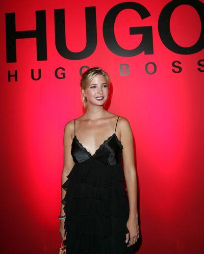 "Ivanka Trump at Hugo Boss spring/summer '05, New York Fashion Week<span class=""Apple-tab-span"" style=""white-space: pre;""></span>"