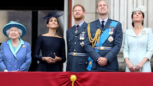 """""""The Duke of Edinburgh, the Prince of Wales and the Duke of Cambridge have all earned their wings and wear them with great pride."""" Picture: Getty"""