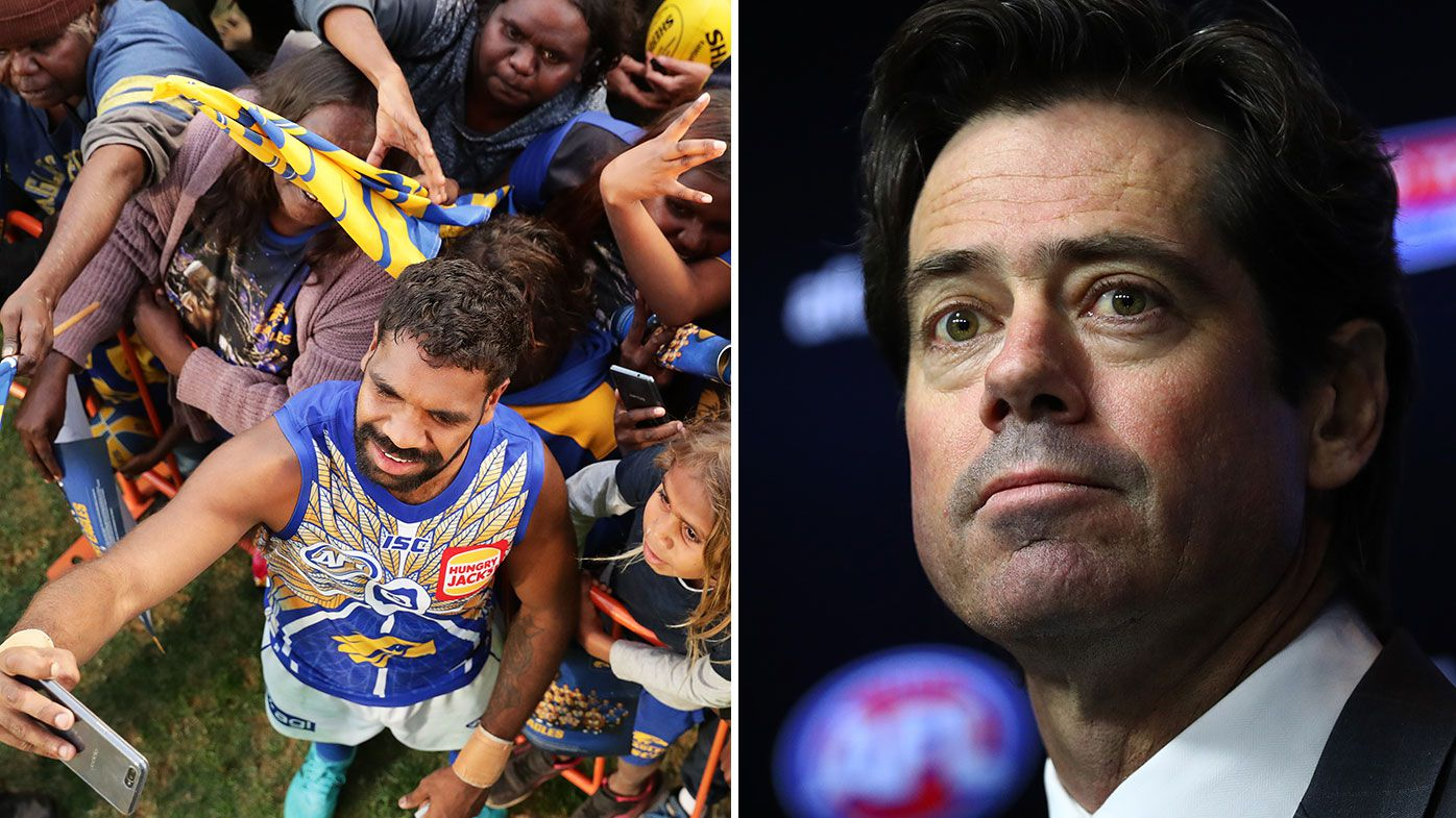 McLachlan not giving up on AFL crowds