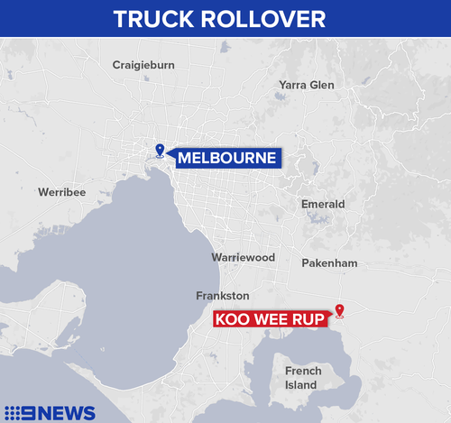 Koo Wee Rup is 63 km south-east of Melbourne.