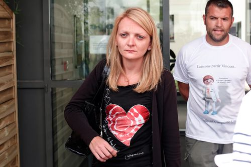 Rachel Lambert, wife of Vincent Lambert who was injured in a 2008 motorbike accident, was told by her husband's medical team in 2013 that all avenues had been exhausted and it might be better to switch off life support.