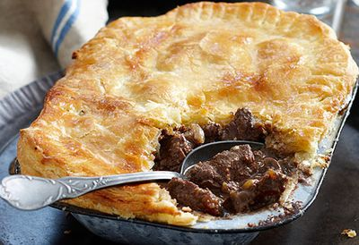 Irish steak and kidney pie