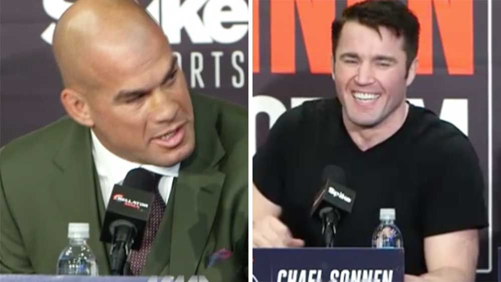 MMA: Sonnen launches sleaziest of sledges at rival