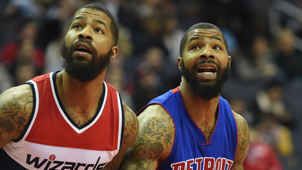 NBA-playing twin brothers show that they still both care