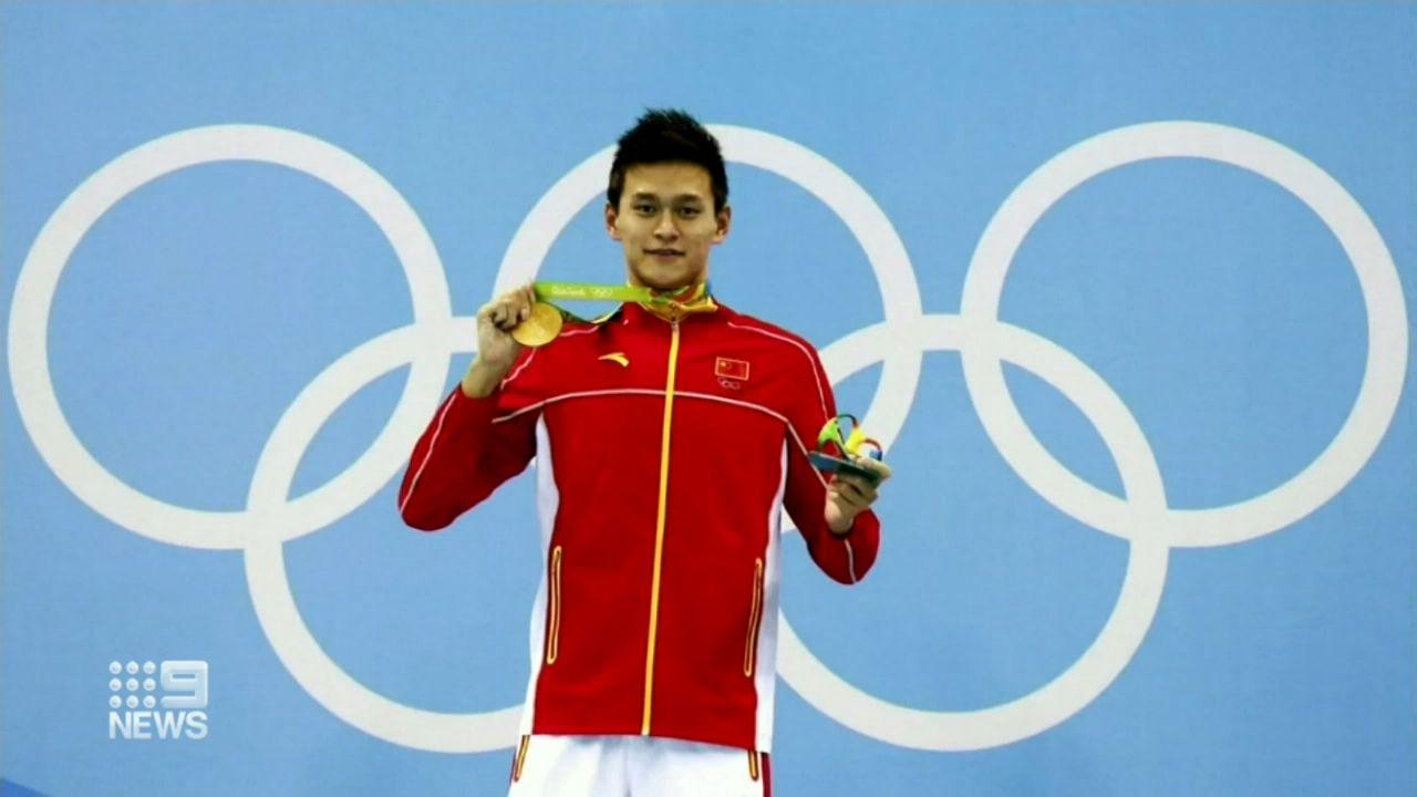 Mack Horton reacts to Sun Yang doping verdict of eight year ban