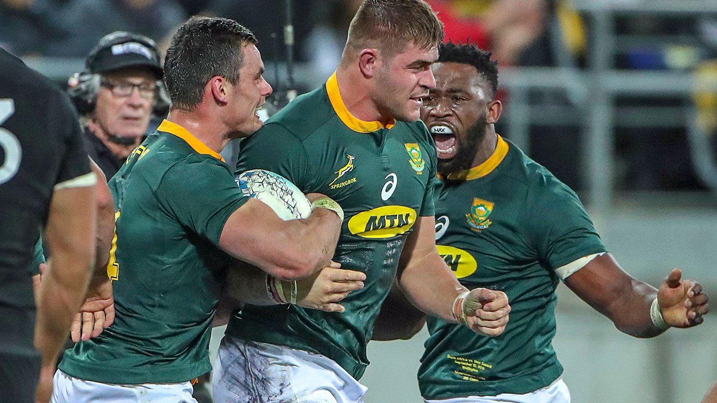 Springboks upset All Blacks in thriller in Wellington