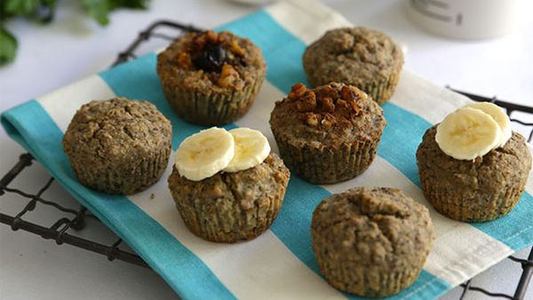 Jacqueline Alwill's quinoa muffins