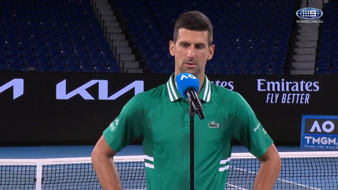 Nick Kyrgios casts doubt over Novak Djokovic as feud bubbles away