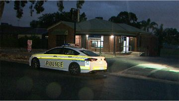 A Hillbank liquor store has been robbed at knife-point, with the offender escaping with cash.