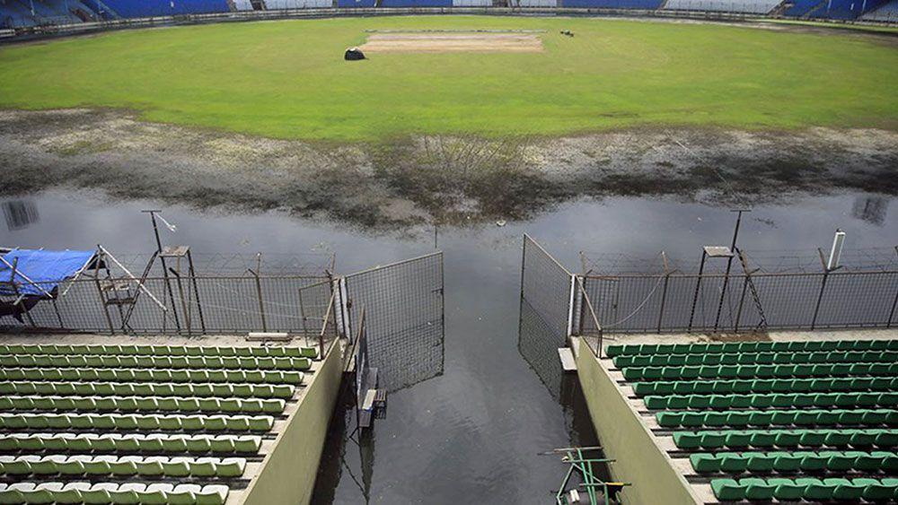 The cricket ground in Fatullah last week.