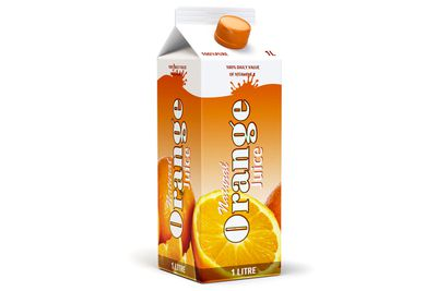 Flavoured fruit drinks: 27g sugar (or more)/6.5 teaspoons per 250ml cup