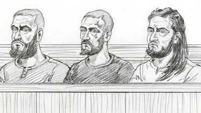 Accused terror plotters front court