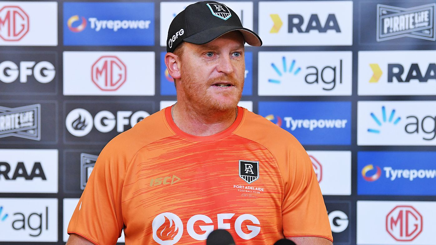 Michael Voss assistant coach of Port Adelaide