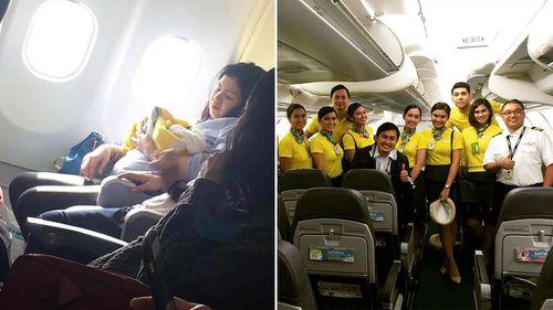 Baby born mid-flight awarded one million air mile points