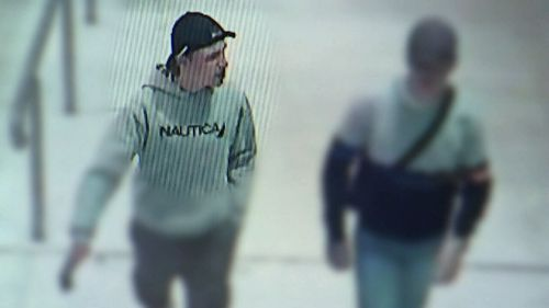 Police are still hunting for the man who allegedly bit the young boy on the cheek. (NSW Police)
