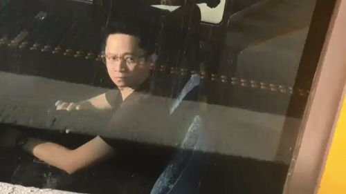 Tjin was caught on camera by an A Current Affair viewer.