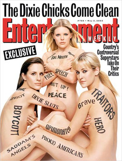 After publicly criticising George Bush's invasion of Iraq in 2003, the Dixie Chicks copped a lot of hatred from patriotic Americans. This was their response to all the hoopla!