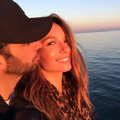 Ricki-Lee Coulter's in LA with her husband Richard Harrison