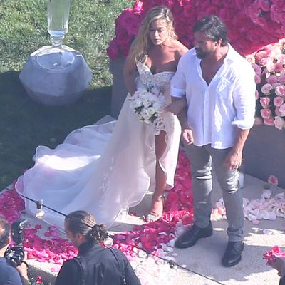 Denise Richards andAaron Phypers
