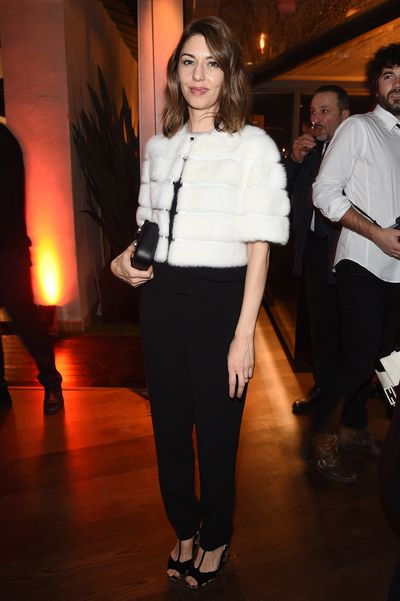 Director Sofia Coppola at Palazzo Fendi in Rome.