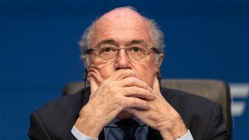 Former FIFA President Joseph S. Blatter. (Getty)