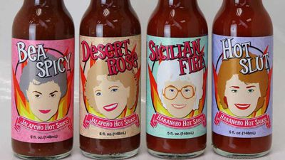 'Golden girls' hot sauce is a thing you can buy