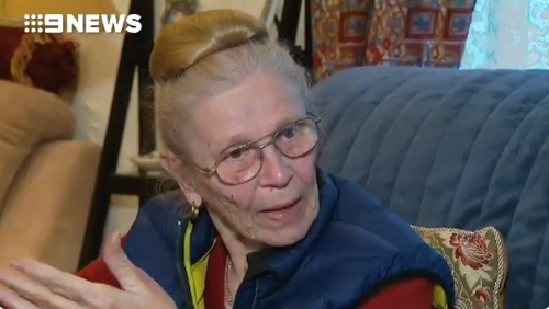 An Adelaide grandmother was terrorised by robbers posing as tradies, who pinned her to the ground in her own home.