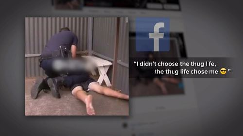 The boy today denied posting on Facebook. (9NEWS)