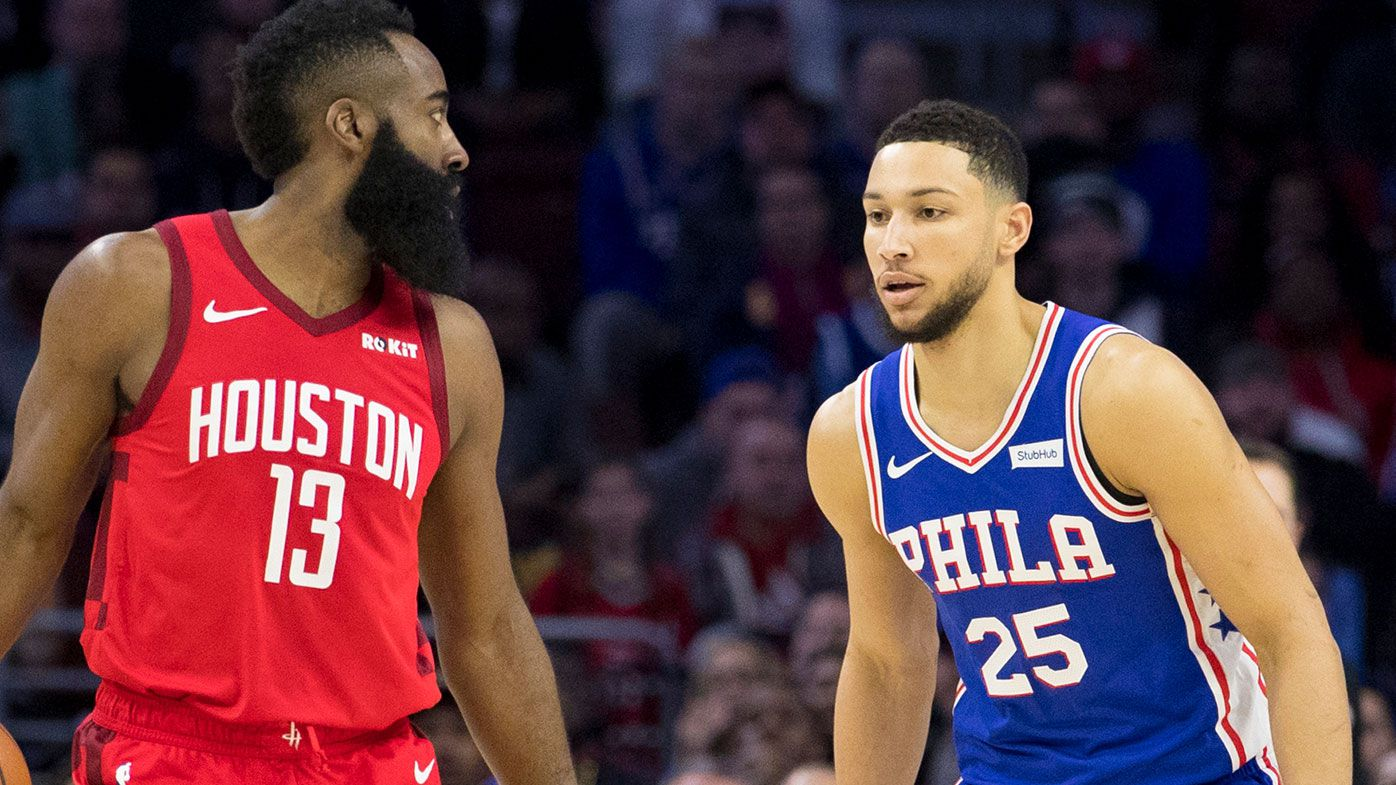 James Harden, Ben Simmons