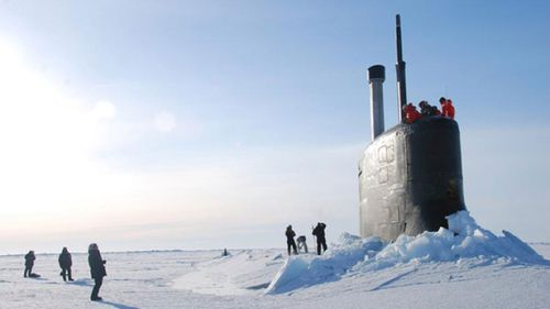 US Navy starts under ice submarine exercise off Alaska's coast