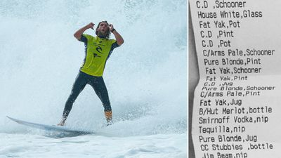 Australian Matt Wilkinson has taken the surfing world by storm after winning back-to-back titles at Bells Beach.