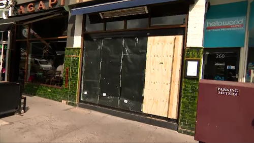 He said he did not know what he would do if the restaurant was shut for months awaiting a permit.