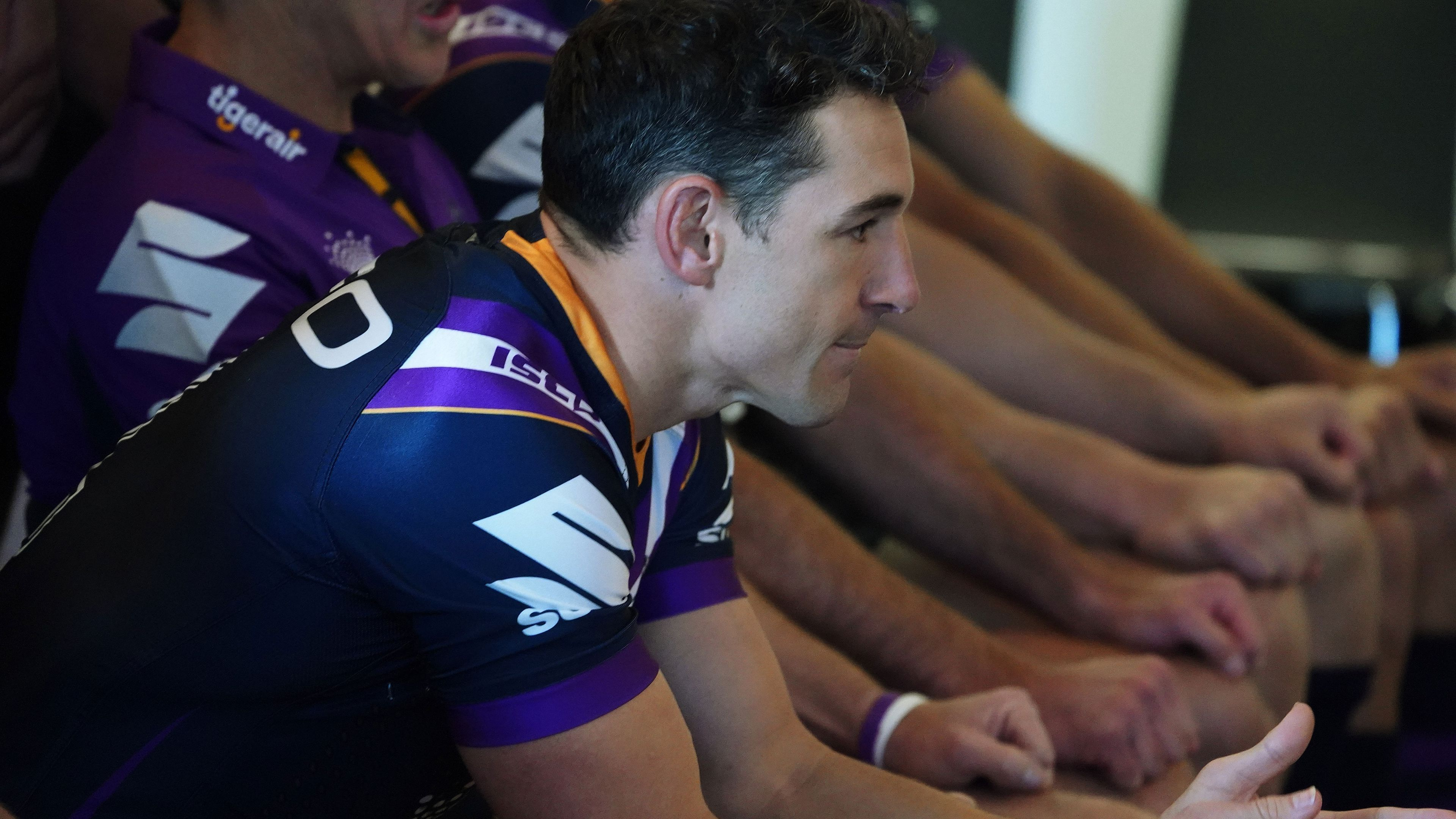 Melbourne Storm star Billy Slater.