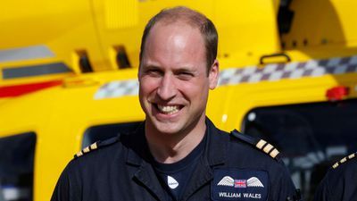 Prince William leaves his day job to be a full-time royal