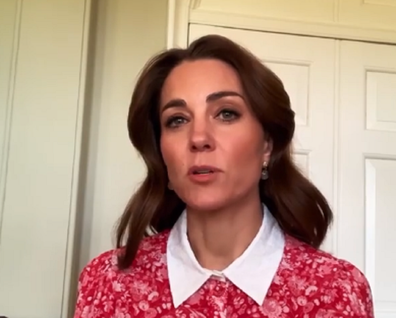 Kate Middleton talks about mental health awareness during the radio event.