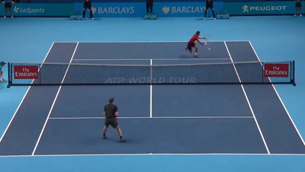 Murray beats Nishikori in Tour Finals duel
