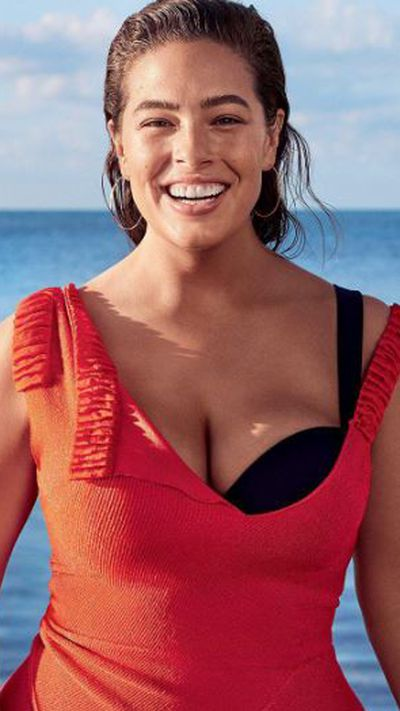 "<p>Ashley Graham posed in a swimsuit for the cover of <a href=""https://www.glamour.com/story/ashley-graham-july-cover-interview"" target=""_blank"">Glamour </a>magazine in the US.&nbsp;</p> <p>""I felt like a token in the beginning [of my career],"" Graham said. ""But now there are so many curve models&mdash;and more opportunities. I feel like a queen [on those jobs] because I&rsquo;m the only one like me. I&rsquo;m like, 'Yes, I&rsquo;m the curve ruler!' [Laughs.] At the Kors show I was the only one standing around naked in front of everyone.""</p>"
