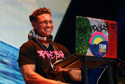 And there's DJ Pauly D, thinking he'll have a career outside <i>Jersey Shore</i>.