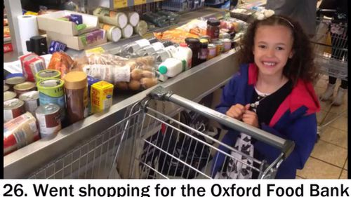They decided to do 39 acts of kindness because their birthdays added up to 39. (YouTube)