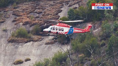 Seven-year-old boy falls 30 metres down waterfall