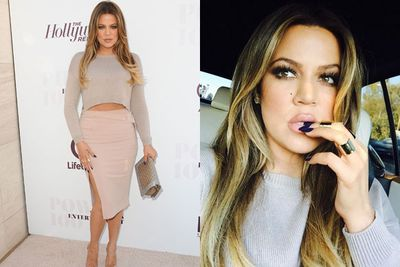 Instead of falling into a deep, dark hole of pity, Khloe raunchified her wardrobe... and swapped the distressed denim of years gone by for pastel pink lips, neutral bodycon skirts and a booty to die for. <br/><br/>Oh, and on-again/off-again boyfriend French Montana.