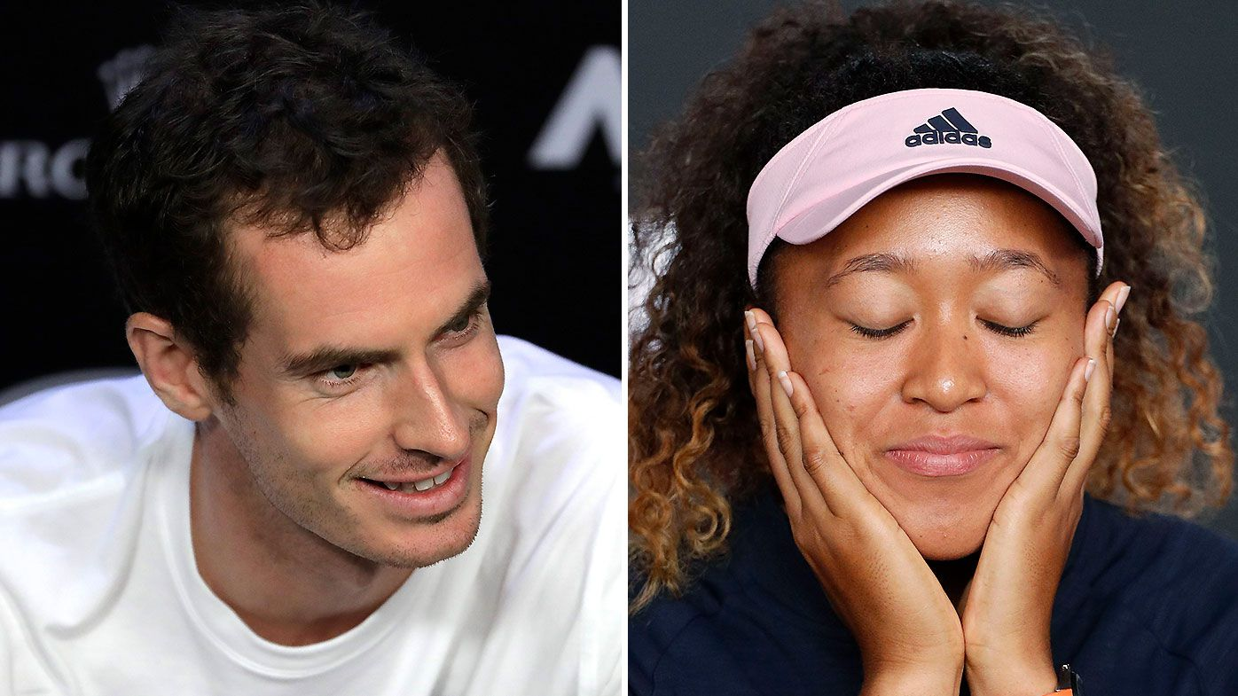 Andy Murray hilariously trolls Naomi Osaka after Australian Open win