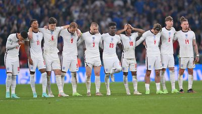 England's dream shattered