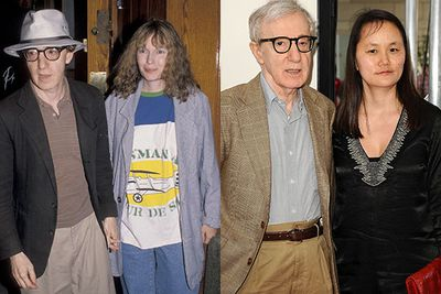 Woody Allen and Mia Farrow<br />