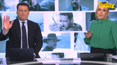 Karl Stefanovic was ignored by his idol this week.